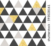 geometric vector pattern with...   Shutterstock .eps vector #593028161
