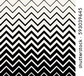 abstract geometric lines graphic design chevron pattern | Shutterstock vector #593039645