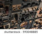 detailed view of the upper set... | Shutterstock . vector #593048885