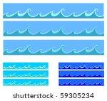 seamless abstract blue... | Shutterstock . vector #59305234