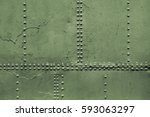 Old Military Green Metal Sheet...