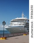 the passenger ship expects... | Shutterstock . vector #59306350