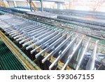 electrolytic zinc production...   Shutterstock . vector #593067155