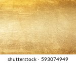 shiny yellow leaf gold foil...   Shutterstock . vector #593074949