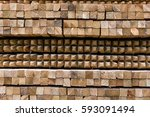 timber stacking. | Shutterstock . vector #593091494