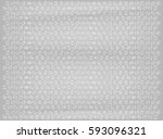 real plastic bubble wrap... | Shutterstock .eps vector #593096321