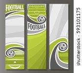 vector vertical banners for... | Shutterstock .eps vector #593101175