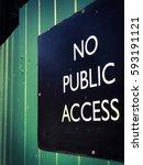 No Public Access Sign In...