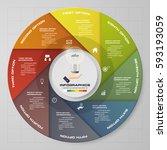infographic design template 8... | Shutterstock .eps vector #593193059