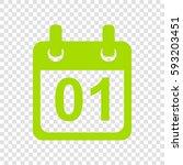 calendar sign illustration....   Shutterstock .eps vector #593203451