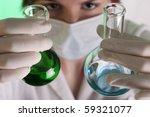 nurse chemist working ...   Shutterstock . vector #59321077