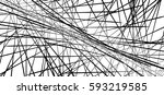 random chaotic lines abstract... | Shutterstock .eps vector #593219585