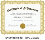 vector certificate. easy to... | Shutterstock .eps vector #59322601
