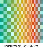 geometric colorful pattern... | Shutterstock .eps vector #593232095