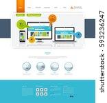 corporate website template in...
