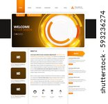 corporate website template in...