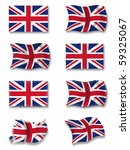 flag of great britain | Shutterstock . vector #59325067
