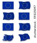 flag of europe  union | Shutterstock . vector #59325097