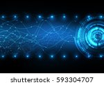 vector background abstract... | Shutterstock .eps vector #593304707