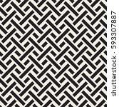 interlacing lines maze lattice. ...   Shutterstock .eps vector #593307887