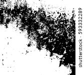 grunge black and white distress ... | Shutterstock .eps vector #593332289