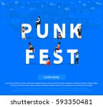 """people on """"punk fest"""" for web ..."""