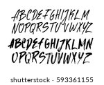 graphic font for your design.... | Shutterstock .eps vector #593361155