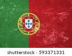 Portugal   Portuguese Flag On...