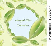 green leaf background   Shutterstock .eps vector #59337244