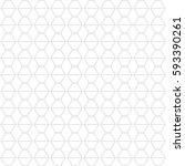 geometric vector seamless... | Shutterstock .eps vector #593390261