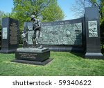 Seabees Memorial In Arlington...