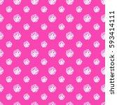 flower pattern | Shutterstock .eps vector #593414111