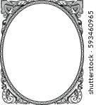 amazing beautiful frame .... | Shutterstock .eps vector #593460965