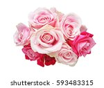 Stock photo bouquet of roses 593483315