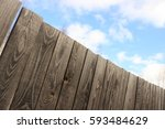 an old fence | Shutterstock . vector #593484629