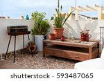 Nice Summer Terrace With...