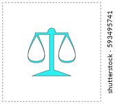 justice scale outline vector...