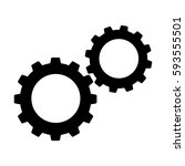 cogwheels or gears icon....