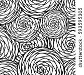 seamless circles spiral. vector   Shutterstock .eps vector #593595305