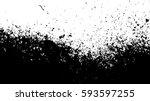 black and white vintage grunge... | Shutterstock .eps vector #593597255