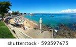 Famous Beach Of Porto Da Barra...