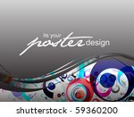 abstract background with... | Shutterstock .eps vector #59360200