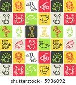 animals check pattern 3  ...