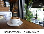 coffee time | Shutterstock . vector #593609675