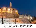 Jerusalem Old City   Tower Of...