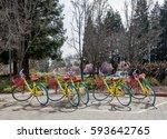 mountain view  ca  usa   march... | Shutterstock . vector #593642765
