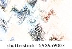 mosaic colorful pattern for... | Shutterstock . vector #593659007