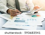 close up of businessman... | Shutterstock . vector #593683541