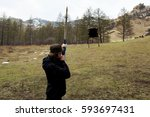 Small photo of Archer Aim Practice