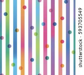 Seamless Pattern Color Strips...